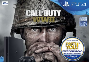500GB PS4 with COD WWII