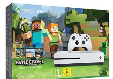 500GB XBOX ONE With Minecraft