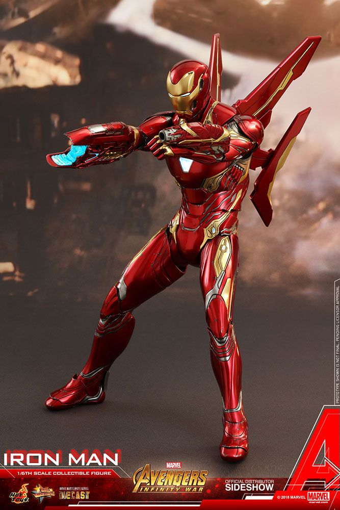War Toys For Girls : Avengers infinity war iron man scale movie