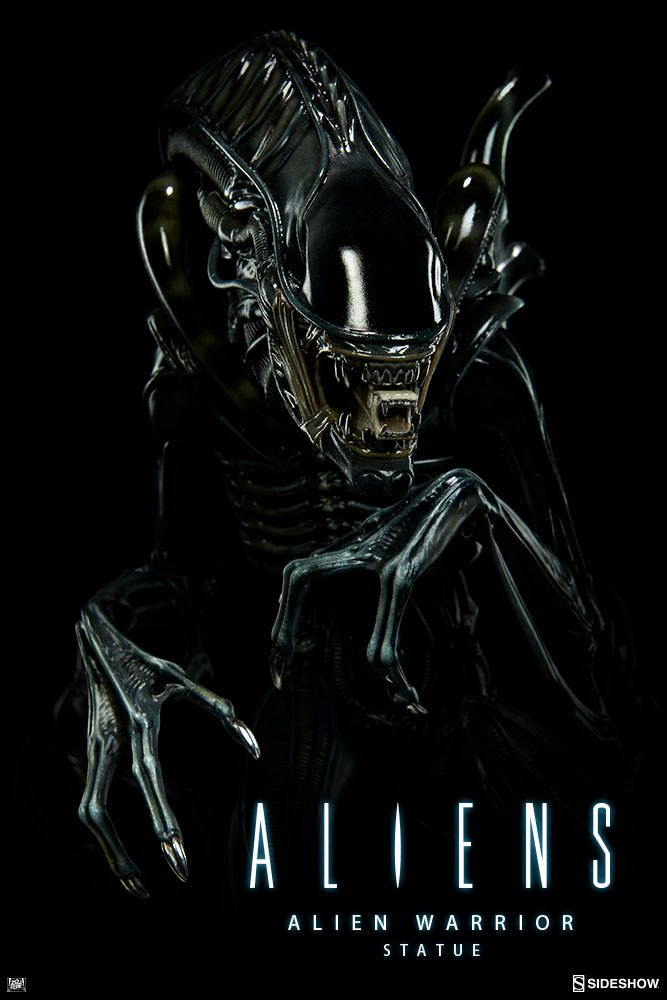 Aliens - Alien Warrior - Sideshow Collectibles Statue ...