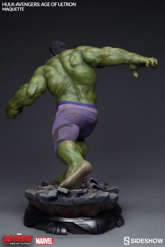 Avengers age of ultron hulk maquette sideshow for Maquette stand
