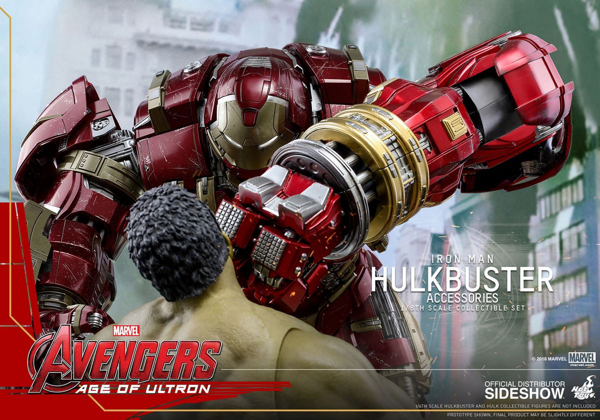 Avengers Age of Ultron - Hulkbuster Accessories Hot Toys Accessories  Collection Series