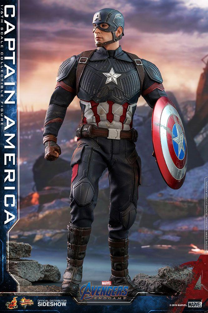 Avengers endgame captain america 1 6 scale movie masterpiece hot toys action figure movie - Image captain america ...