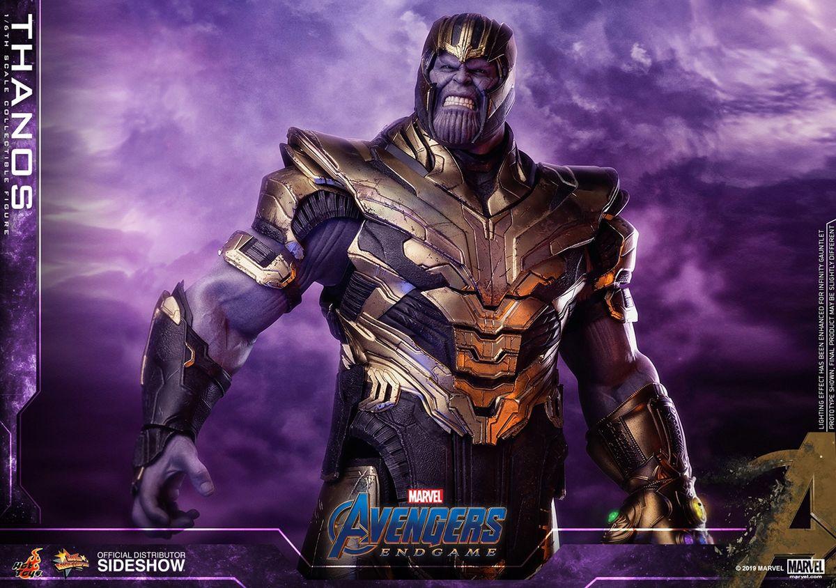 Avengers Endgame Thanos 1 6 Scale Movie Masterpiece Hot Toys