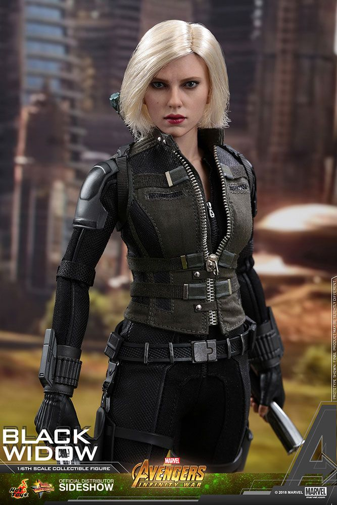 avengers infinity war black widow 16 scale movie