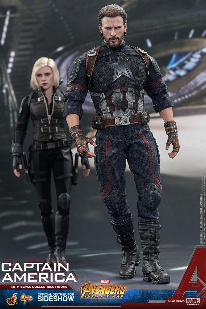Avengers Infinity War Captain America 16 Scale Movie Masterpiece