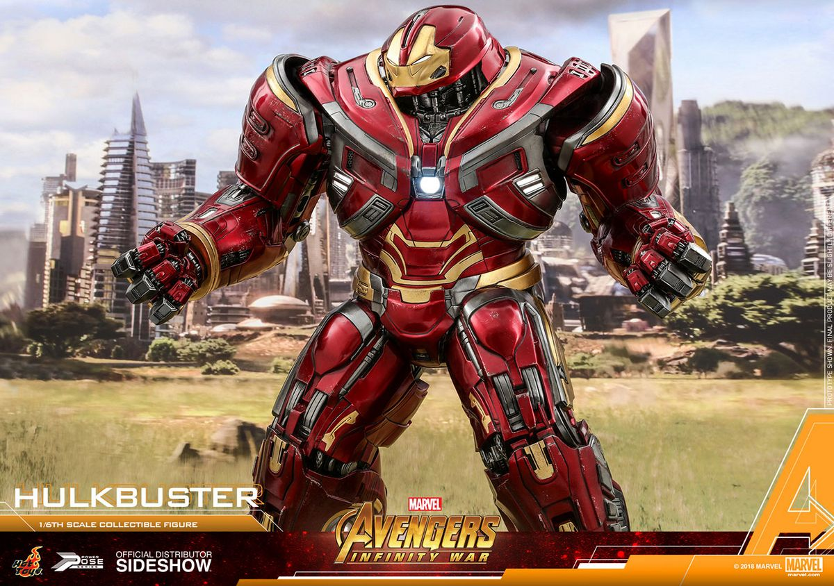 Avengers Infinity War Hulkbuster 1 6 Scale Movie