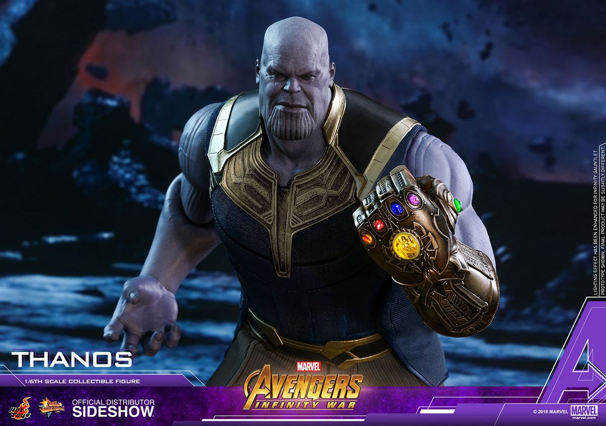 avengers infinity war - thanos 1  6 scale movie masterpiece hot toys action figure
