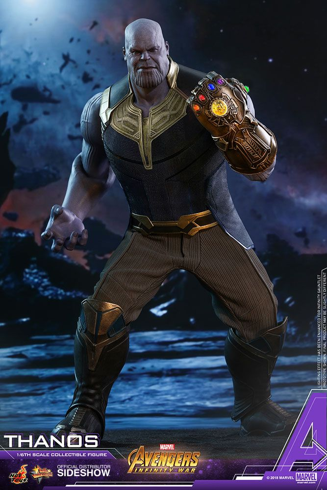 Hot Toys Action Figures: Thanos 1/6 Scale Movie Masterpiece