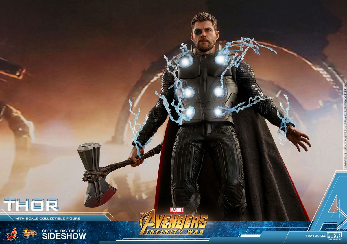 Avengers Infinity War - Thor 1/6 Scale Movie Masterpiece ...