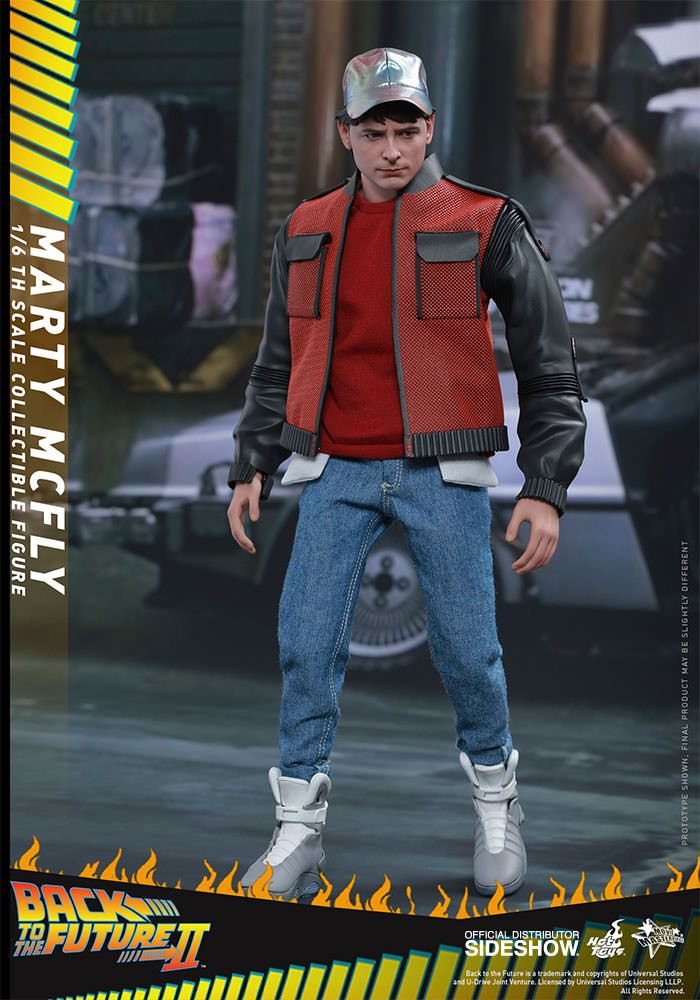 back to the future ii marty mcfly 1 6 scale movie masterpiece hot toys action figure movie mania. Black Bedroom Furniture Sets. Home Design Ideas