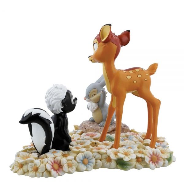Bambi, Thumper and Flower Figurine