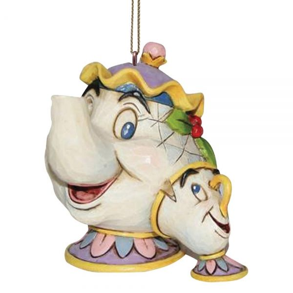 Beauty And The Beast Mrs Potts And Chip Hanging Ornament