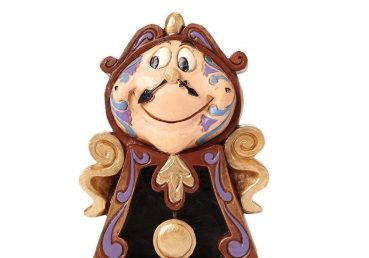 Beauty and the Beast Cogsworth Figurine
