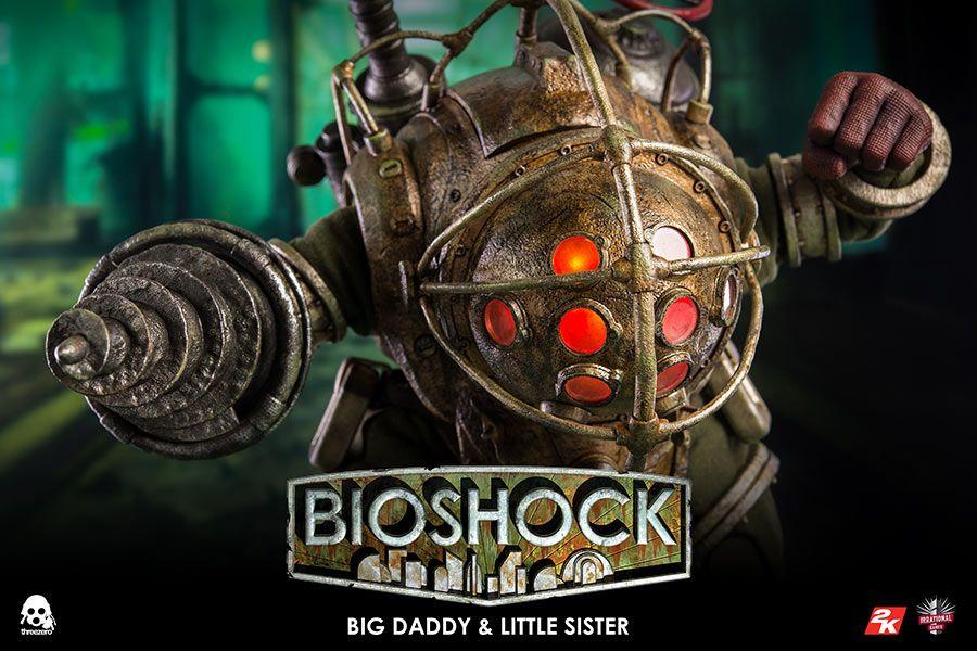 BioShock - Big Daddy & Little Sister - ThreeZero 1/6 Scale 2-Pack Action  Figure
