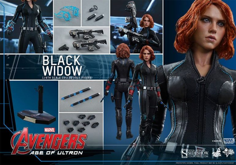 Black Widow Hot Toys Action Figure