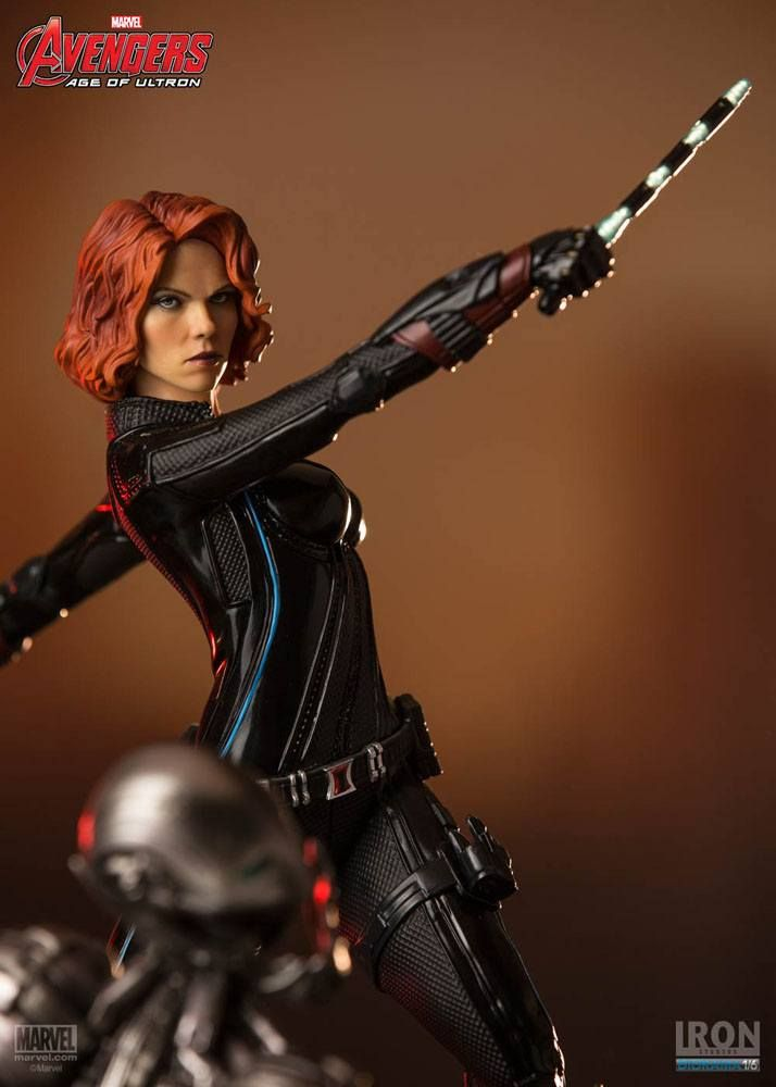 Avengers Age of Ultron - Black Widow Iron Studios 1/6 ...