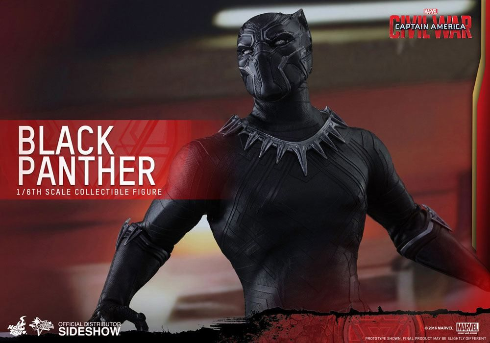 035ad5b800f Captain America Civil War – Black Panther 1 6 Scale Movie Masterpiece Hot  Toys Action Figure