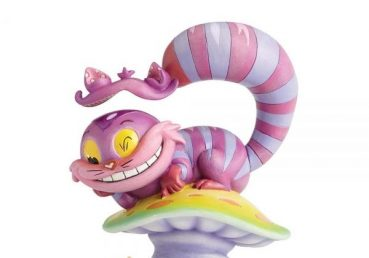 Miss Mindy Cheshire Cat & Alice Figurine
