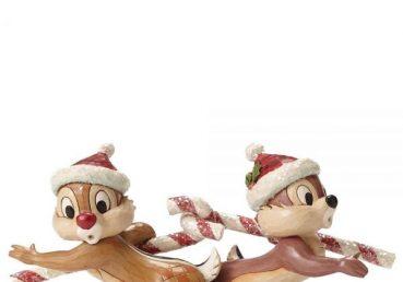 Chip 'n' Dale Candy Cane Caper Figurine