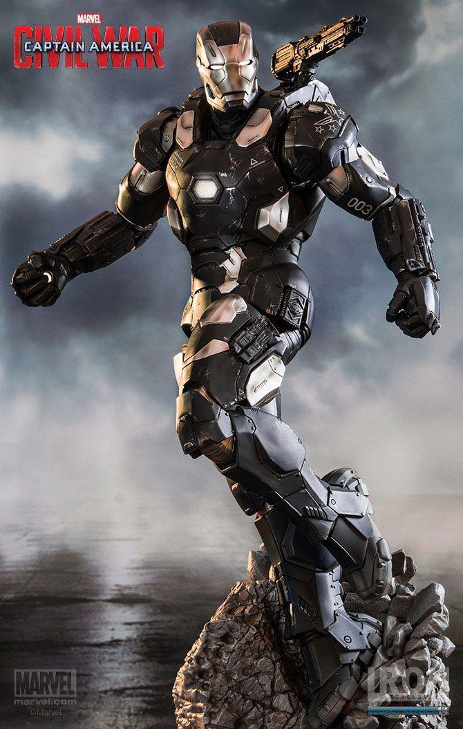 Captain America Civil War War Machine Iron Studios 1 4