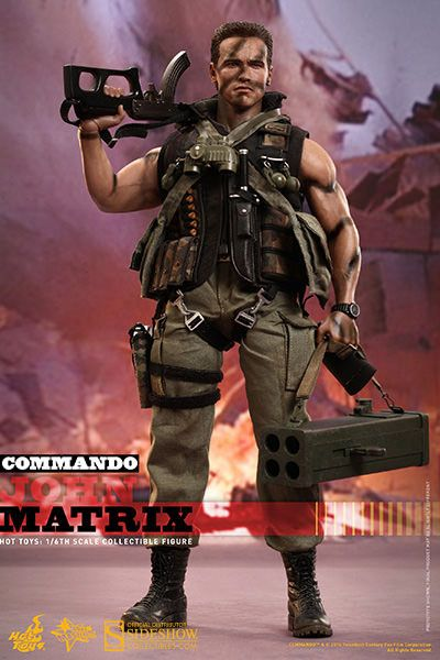 Commando Hot Toys Action Figure