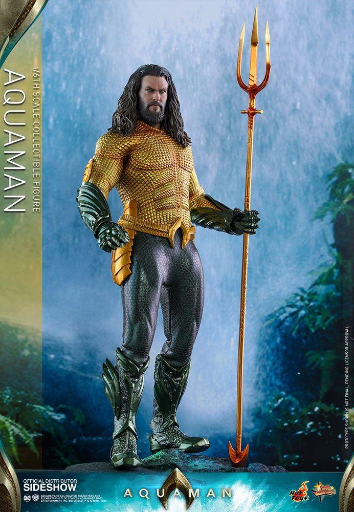 Dc Aquaman Aquaman 1 6 Scale Movie Masterpiece Hot