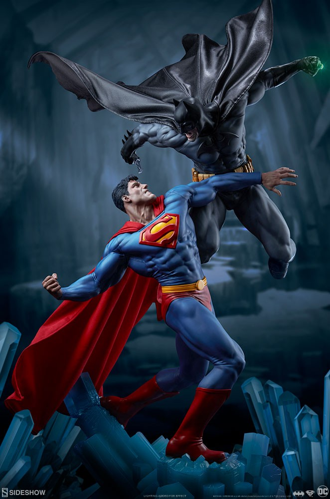 f1ae27415f1a DC Comics - Batman vs. Superman - Sideshow Collectibles Statue ...
