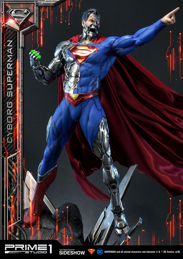 DC Comics - Cyborg Superman - Prime 1 Studio 1/3 Scale ...