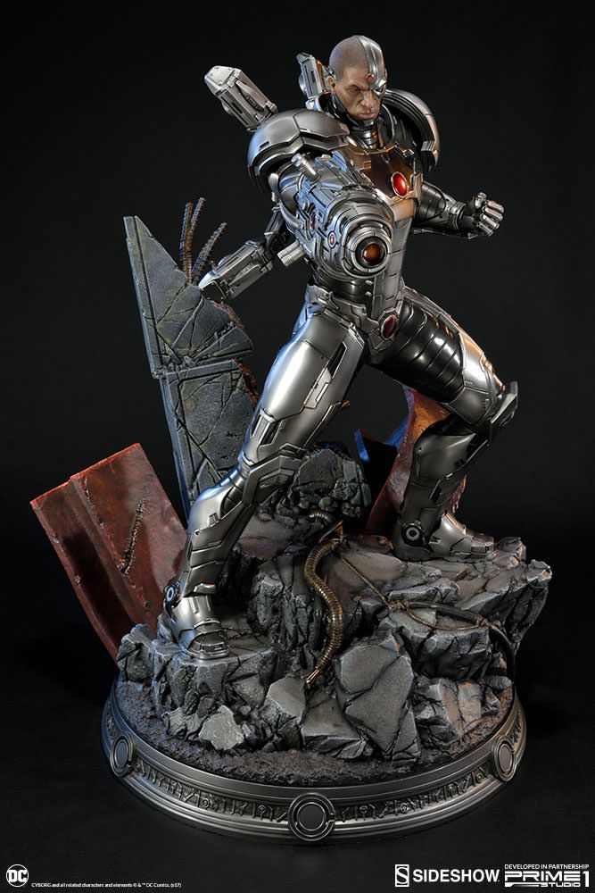Pop Machine For Sale >> DC Comics Justice League New 52 - Cyborg - Sideshow ...