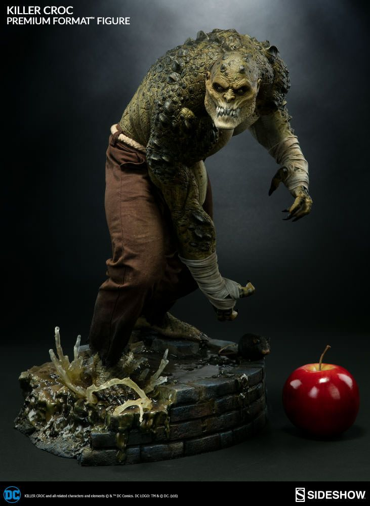 Dc Comics Killer Croc Sideshow Collectibles Statue