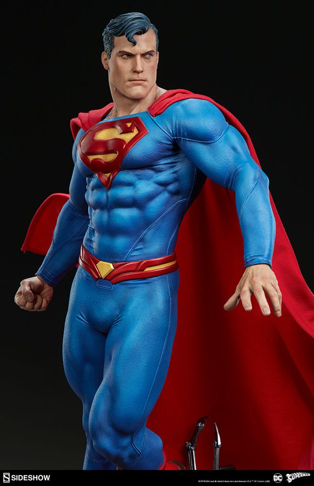 2bdf08c671 DC Comics - Superman - Premium Format Figure Sideshow Collectibles ...