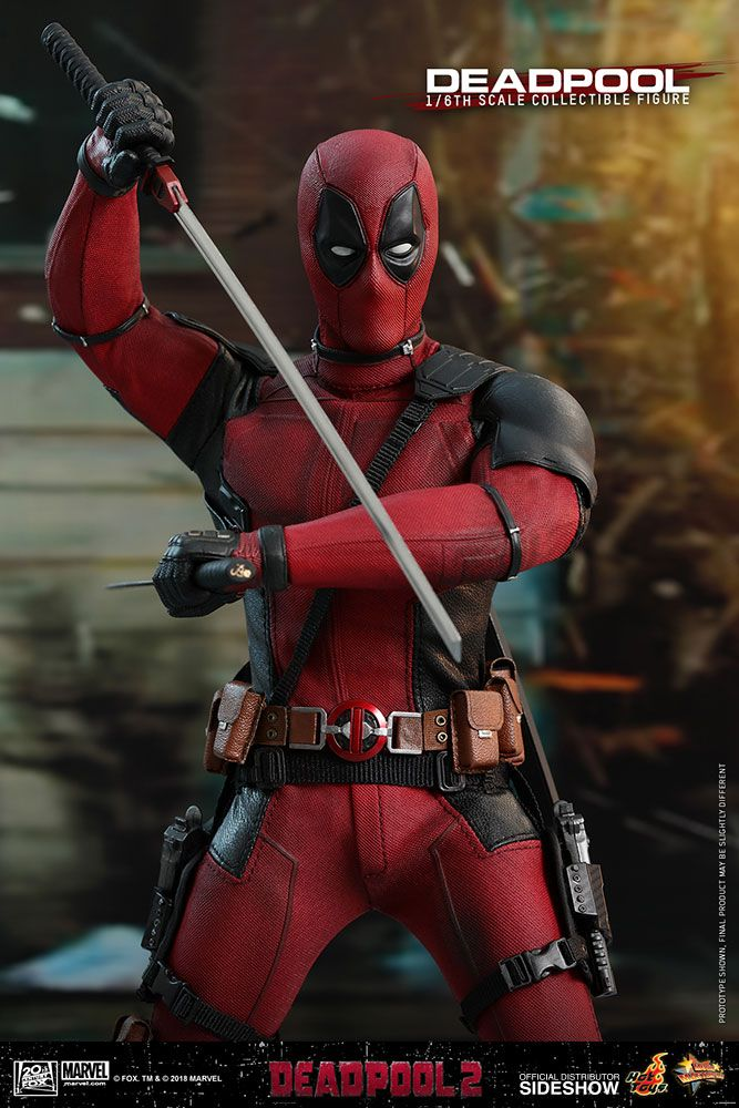 Deadpool 2 – Deadpool – 1/6 Scale Movie Masterpiece Hot Toys Action Figure