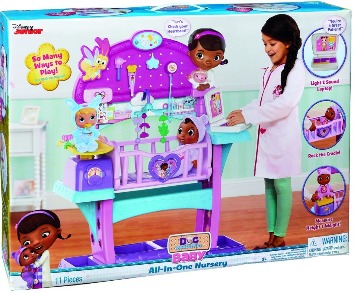 Doc Mcstuffins Baby All In One Nursery Movie Mania