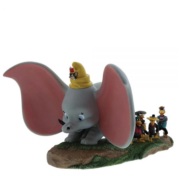 Dumbo, Timothy, Jim Crow and Brothers Figurine