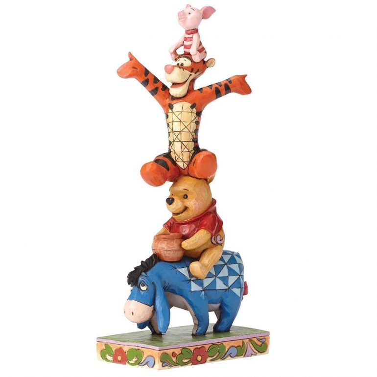 Eeyore, Pooh, Tigger and Piglet Figurine