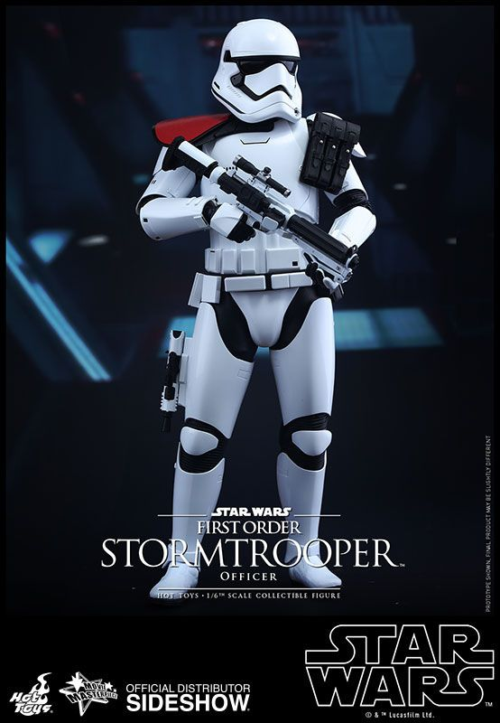 First Order Stormtrooper and FOS Officer Hot Toys Action Figures