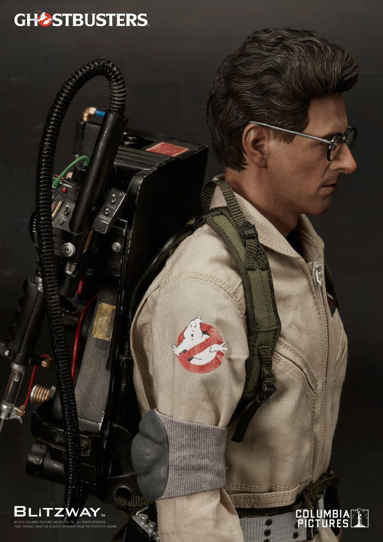 Ghostbusters Egon Spengler Blitzway 1 6 Scale Action