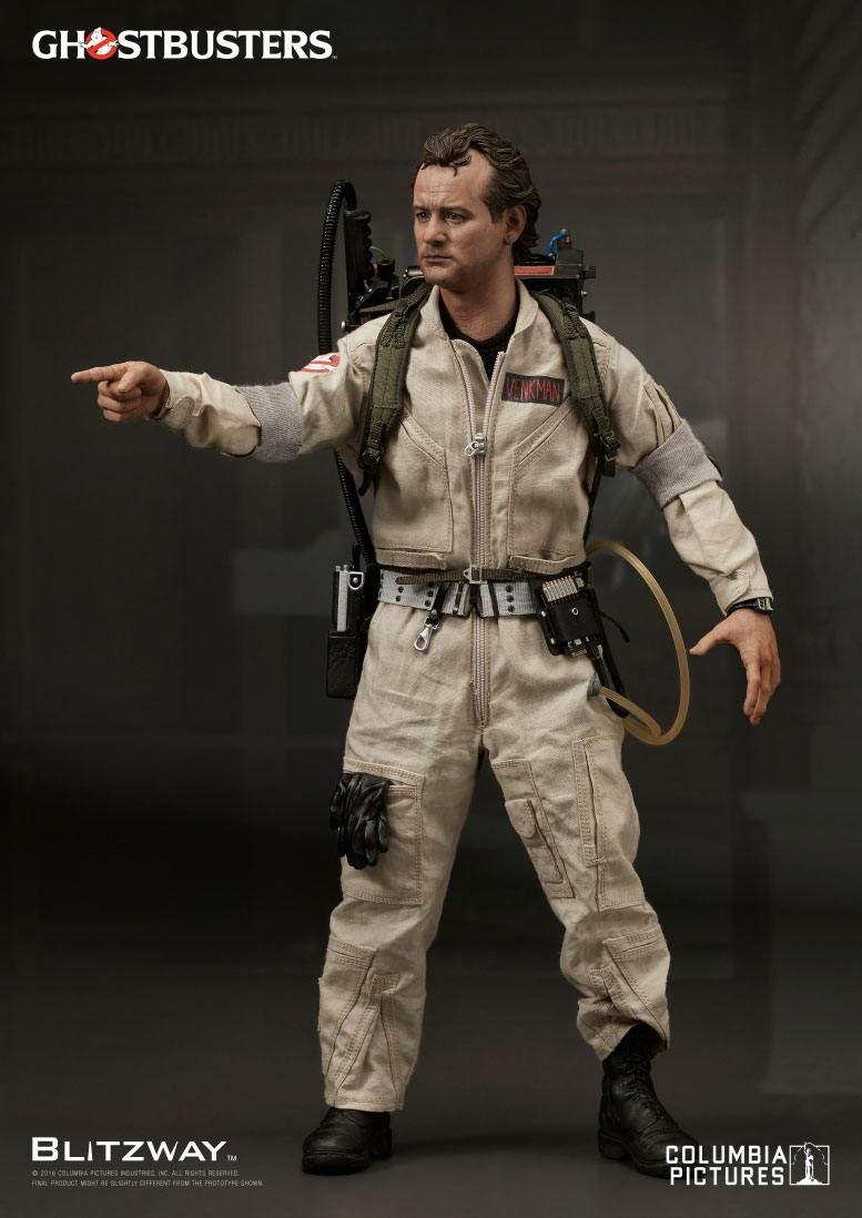 ghostbusters peter venkman blitzway 16 scale action