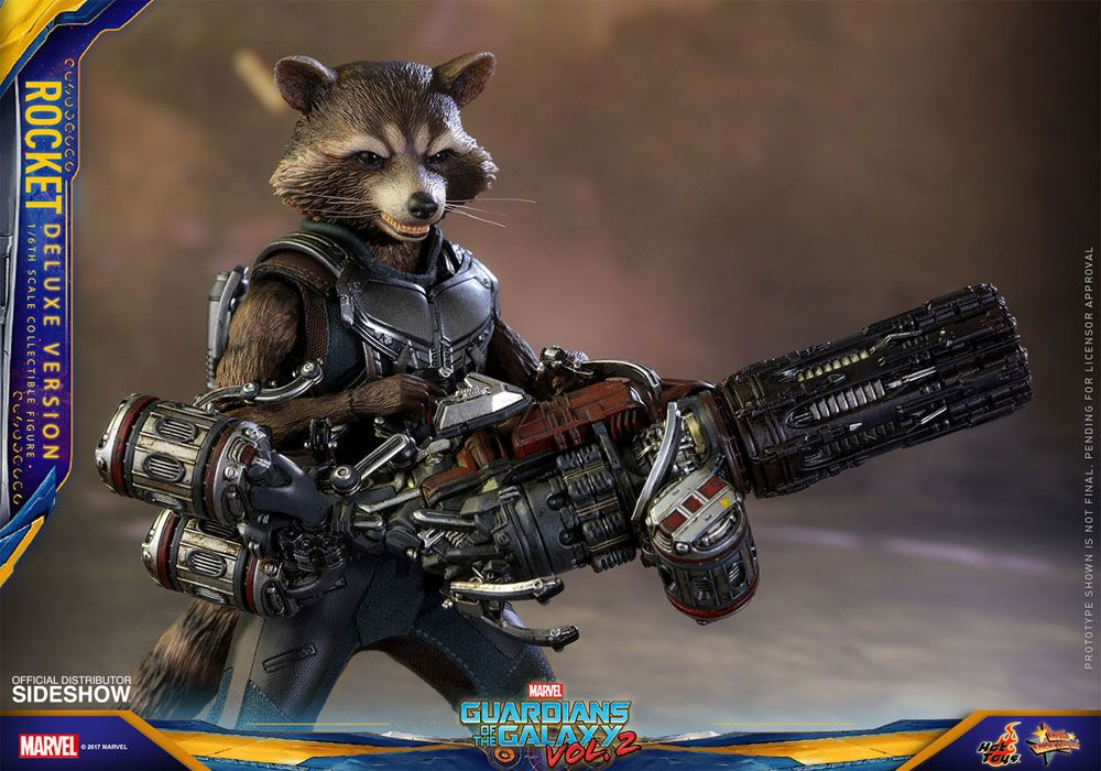 Guardians of the galaxy vol 2 rocket deluxe ver 1 6 for Galaxy toys