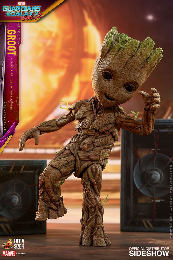Guardians Of The Galaxy Vol 2 Groot Slim Version Life