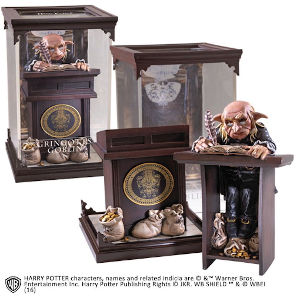 Harry Potter Collectables Magical Creatures Gringotts Goblin