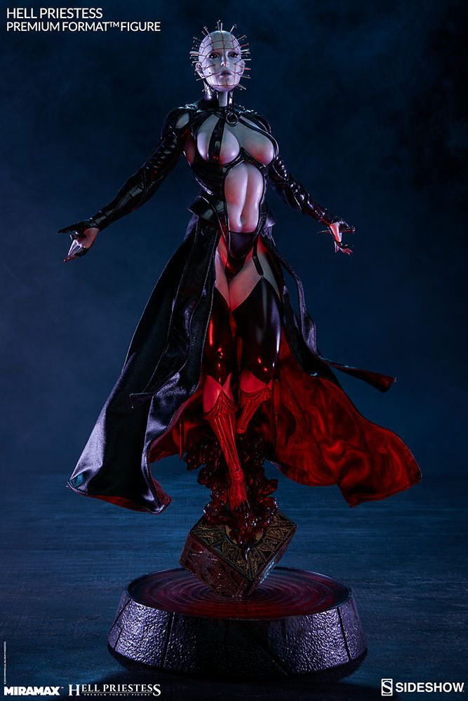 hellraiser hell priestess sideshow collectibles statue