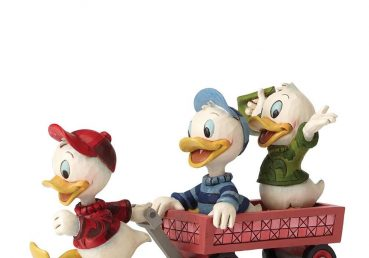 Huey Dewey and Louie Figurine