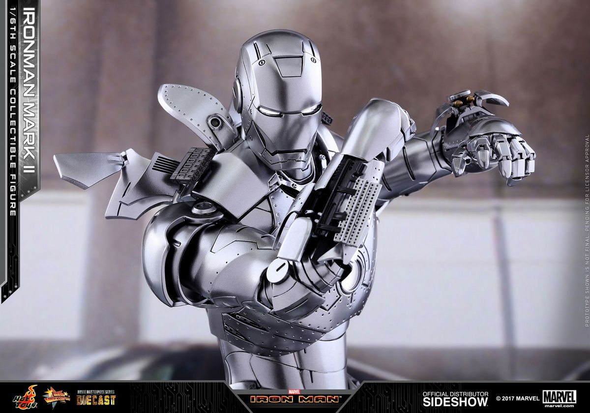 Iron Man 2: Iron Man Mark II 1/6 Scale Series Hot Toys