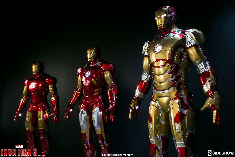 Imà Genes De Iron Man: Iron Man Mark 42 Life Size Sideshow