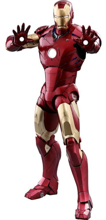 Iron man iron man mark iii 1 4 scale qs series movie masterpiece hot toys action figure - Image de iron man ...