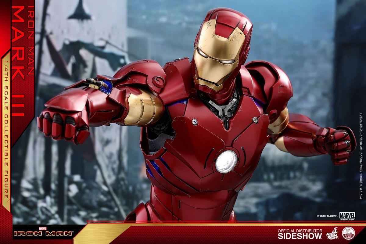 Iron Man - Iron Man Mark III 1/4 Scale QS Series Movie ...