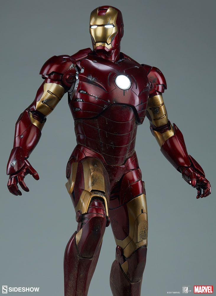 iron man iron man mark iii maquette sideshow. Black Bedroom Furniture Sets. Home Design Ideas