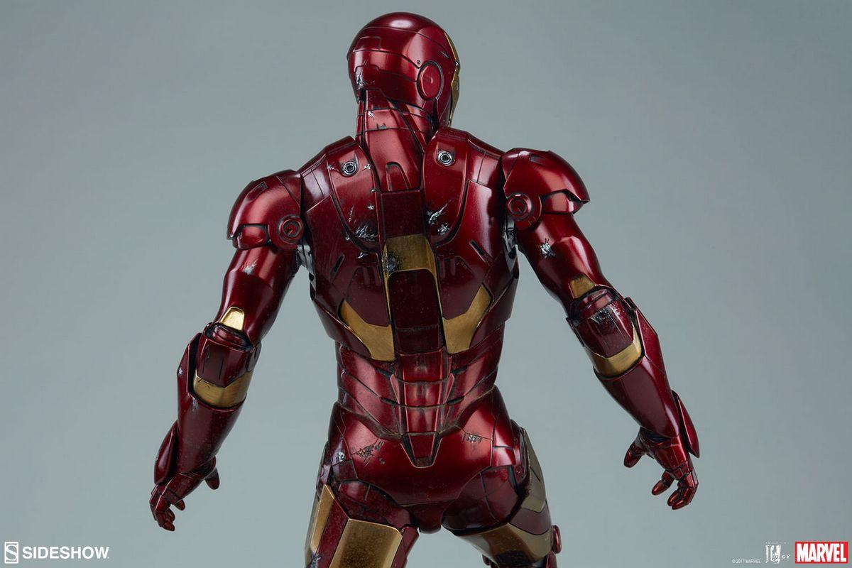 Iron Man 2: Maquette Sideshow